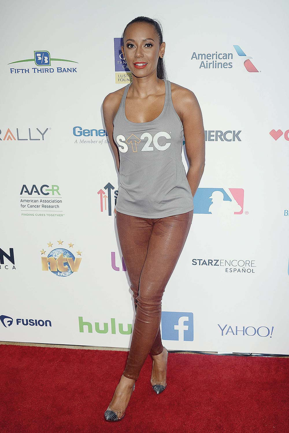 Melanie Brown attends Hollywood Unites for the 5th Biennial Stand Up To Cancer