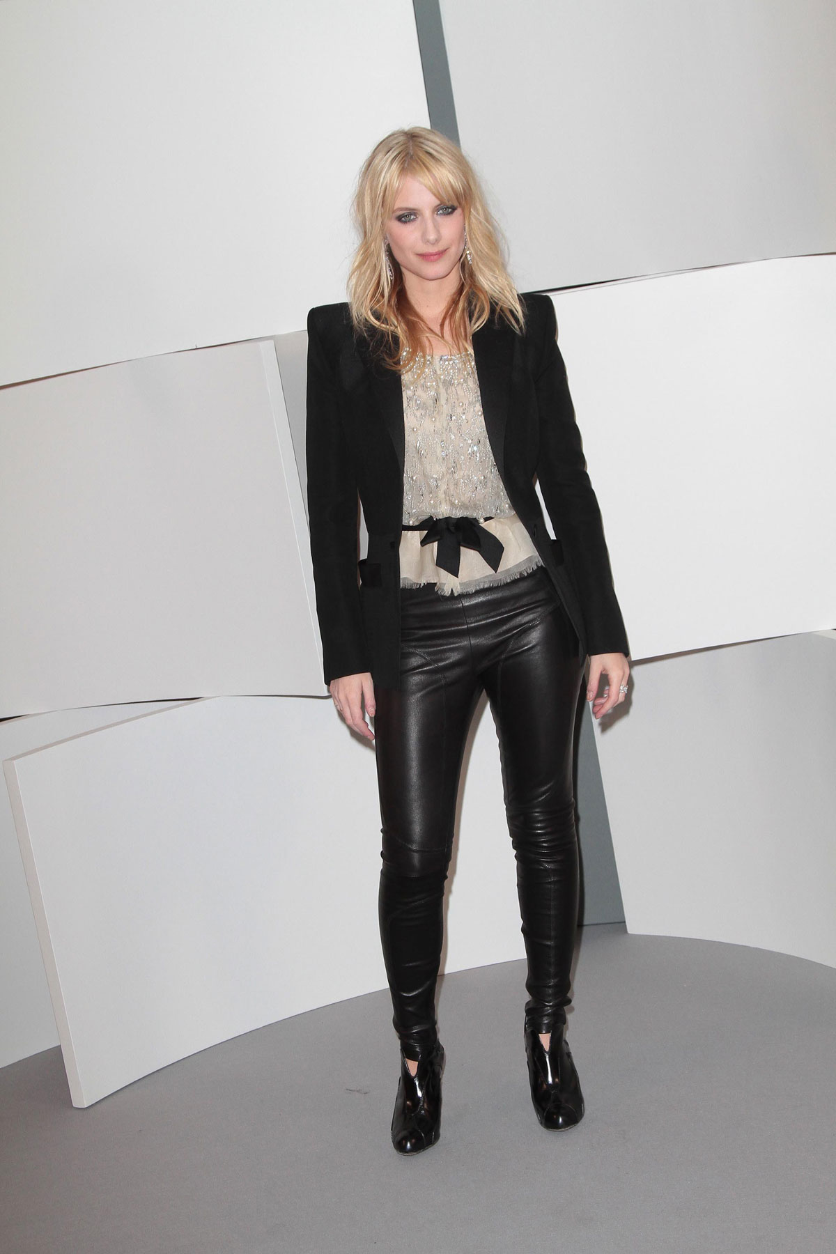 Melanie Laurent Attends 35th Cesar Film Awards Leather