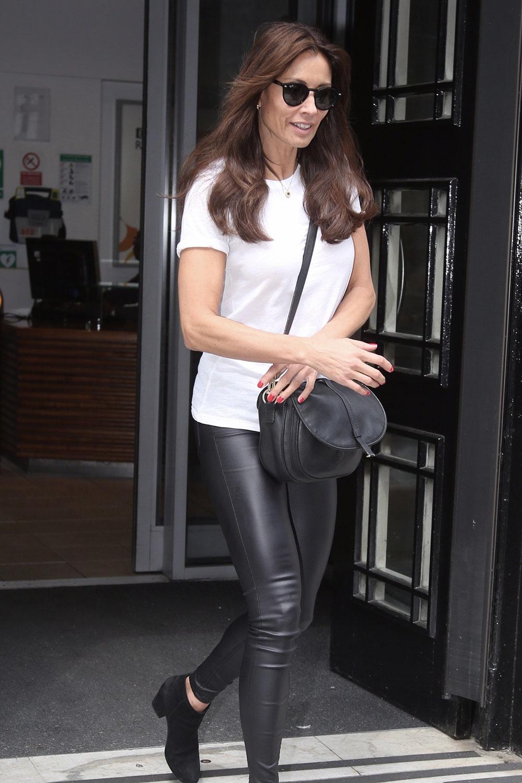 Melanie Sykes at Radio 2 in London