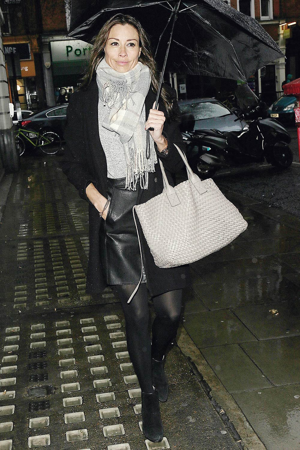 Melanie Sykes out & about in London