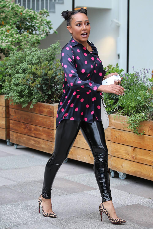 Melanie Brown at ITV Studios