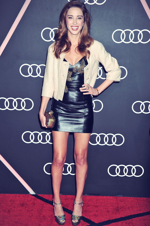 Melissa Bolona at the Audi Golden Globes Weekend Celebration