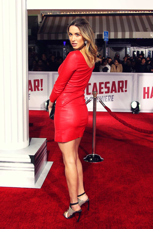 Melissa Bolona attends Premier of Hail, Caesar!