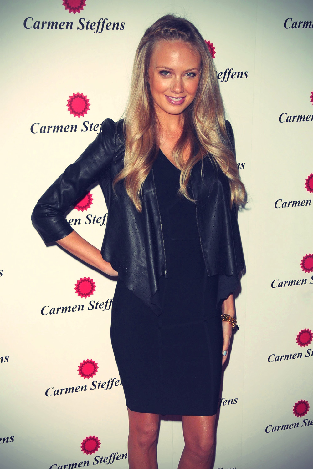 Melissa Ordway at Carmen Steffens West Coast Flagship Store Opening