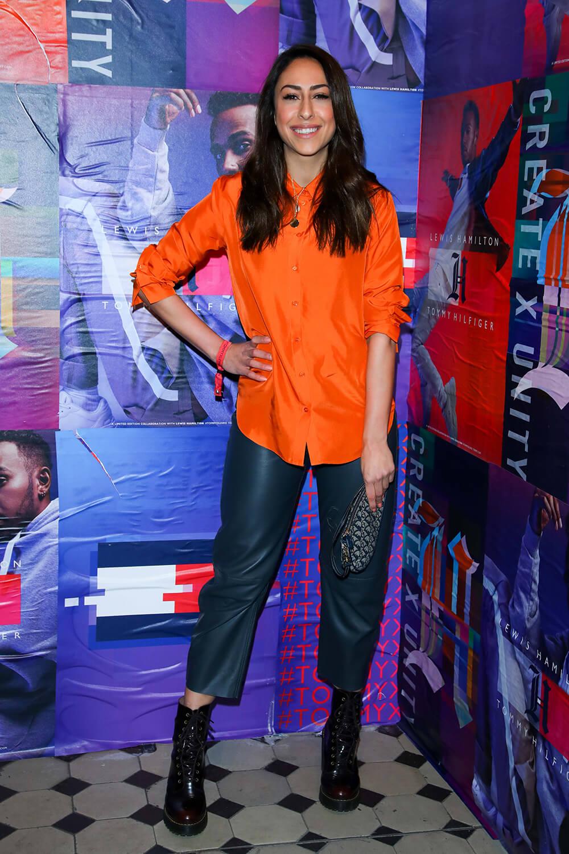 Melissa Khalaj attends Tommy Hilfiger CREATExUNITY Event