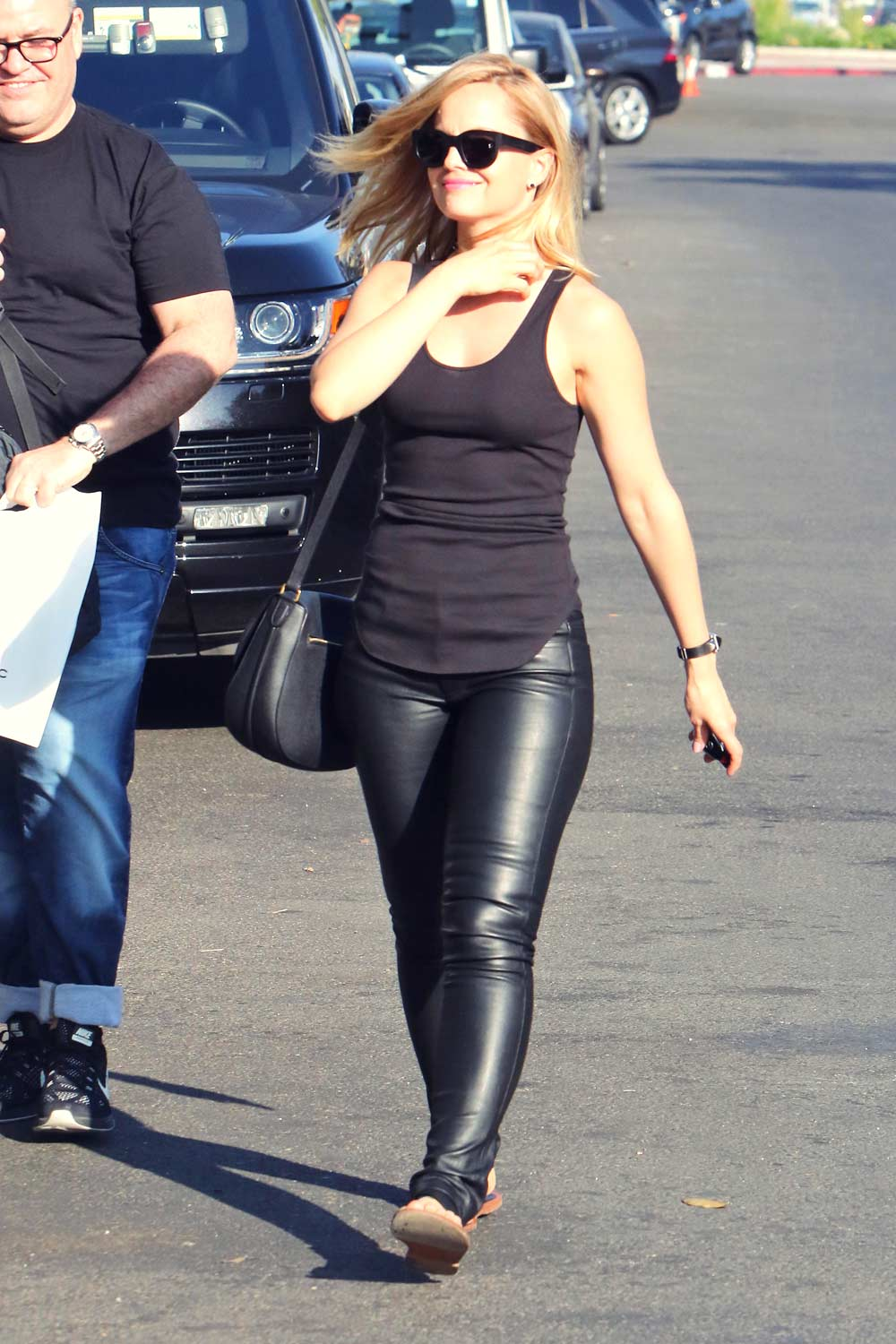 Mena Suvari Out In West Hollywood Leather Celebrities