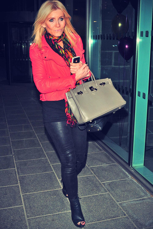 Michelle Collins Merabi fashion show