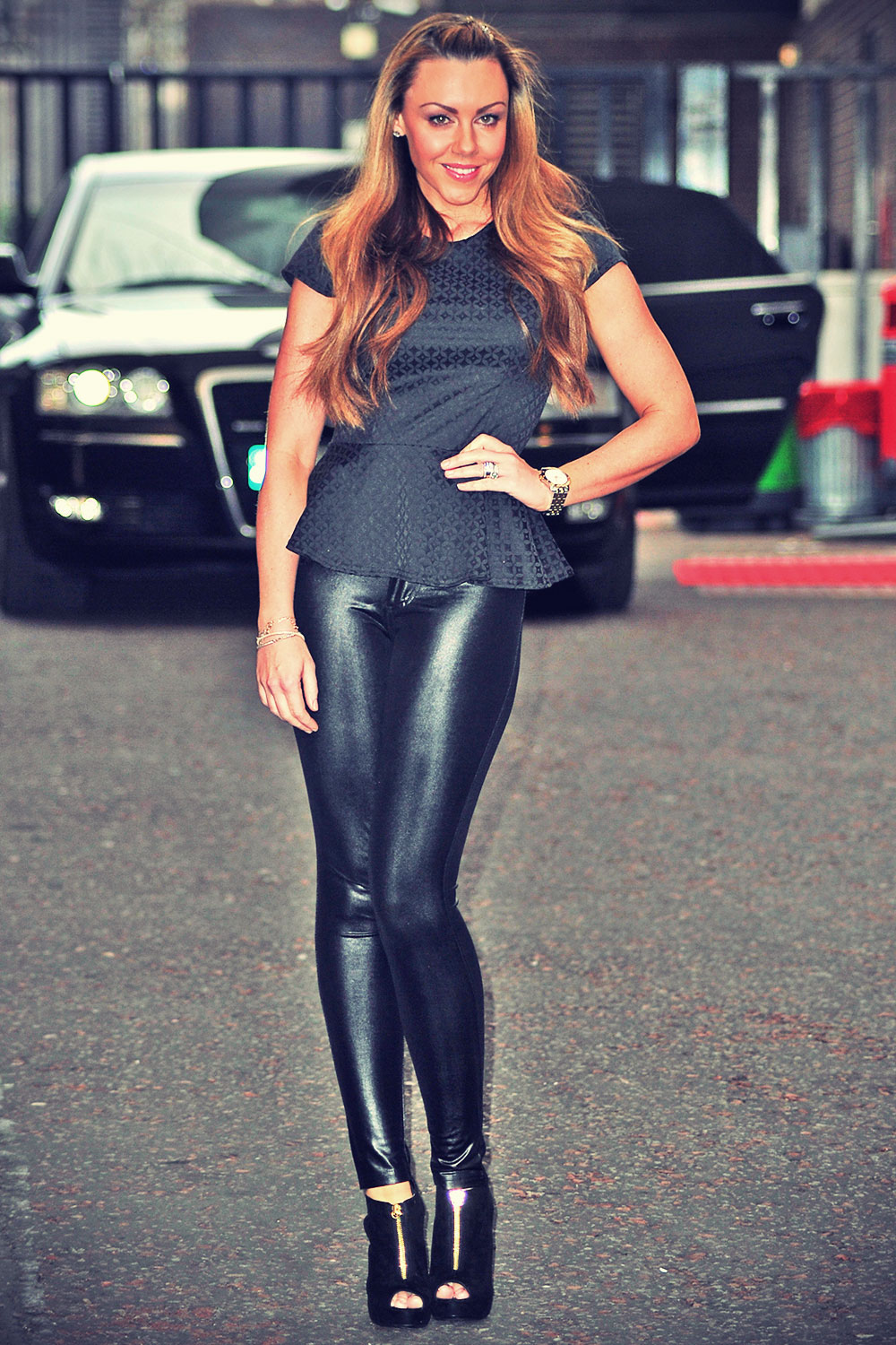 Michelle Heaton at ITV Studios