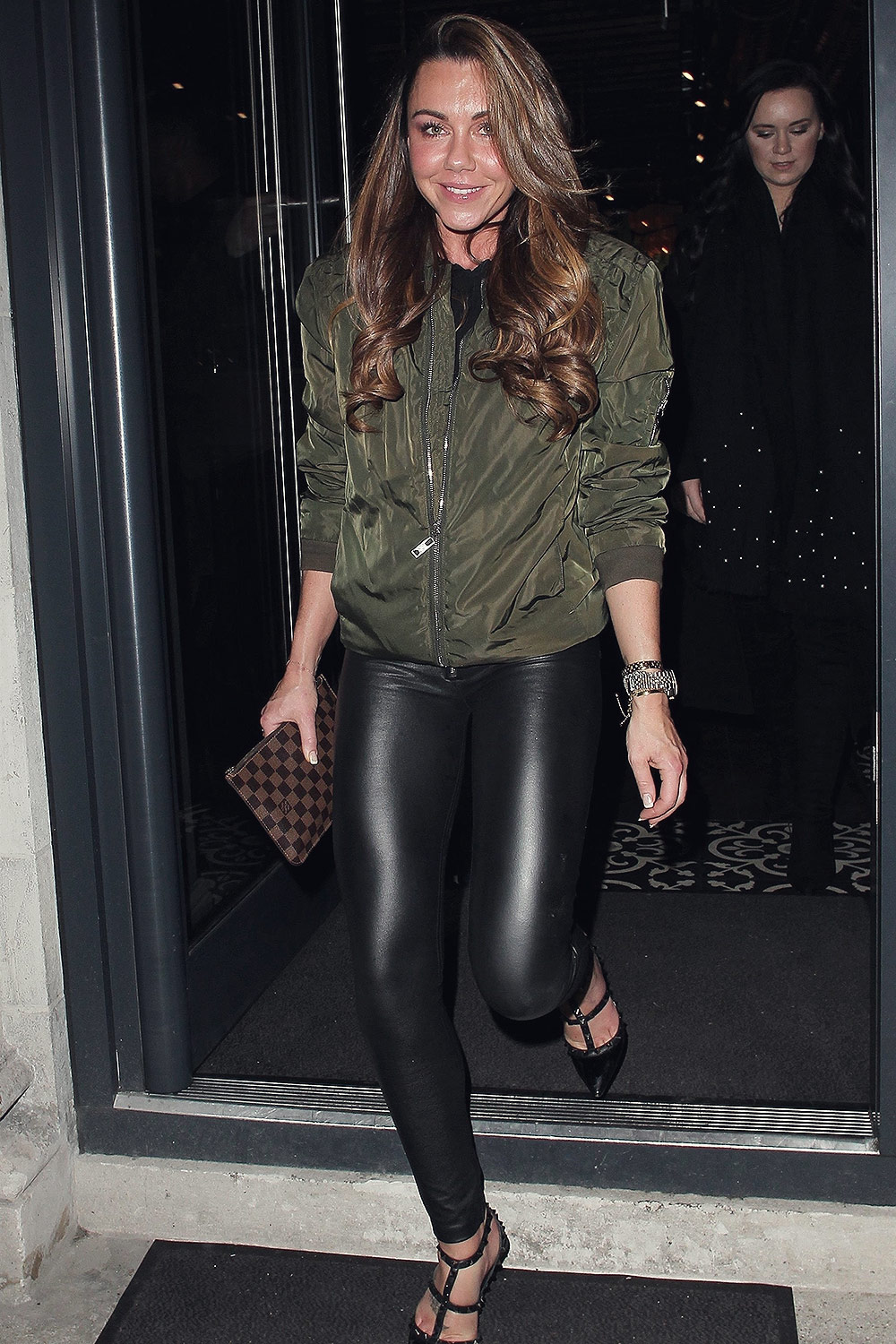 Michelle Heaton night out London