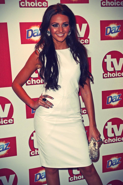 Michelle Keegan at TV Choice Awards