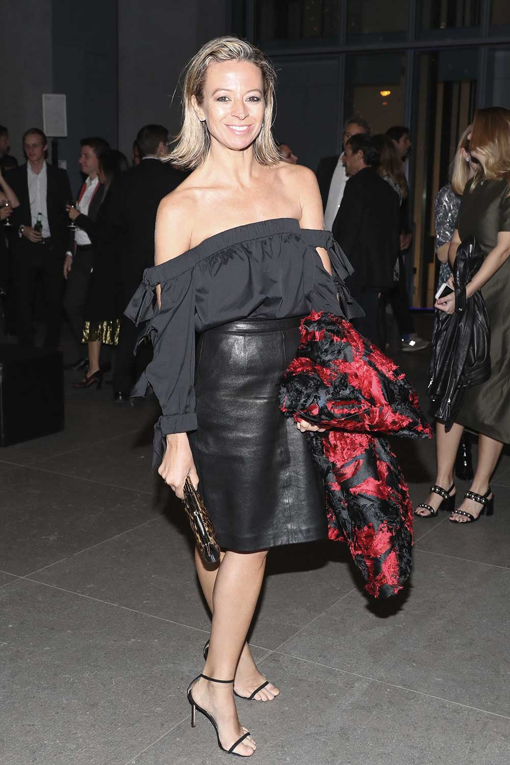 Michelle Smith attends The Whitney Annual Art Party