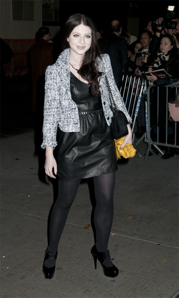 Michelle Trachtenberg at the screening of WE at the Museum of Modern Art in NY