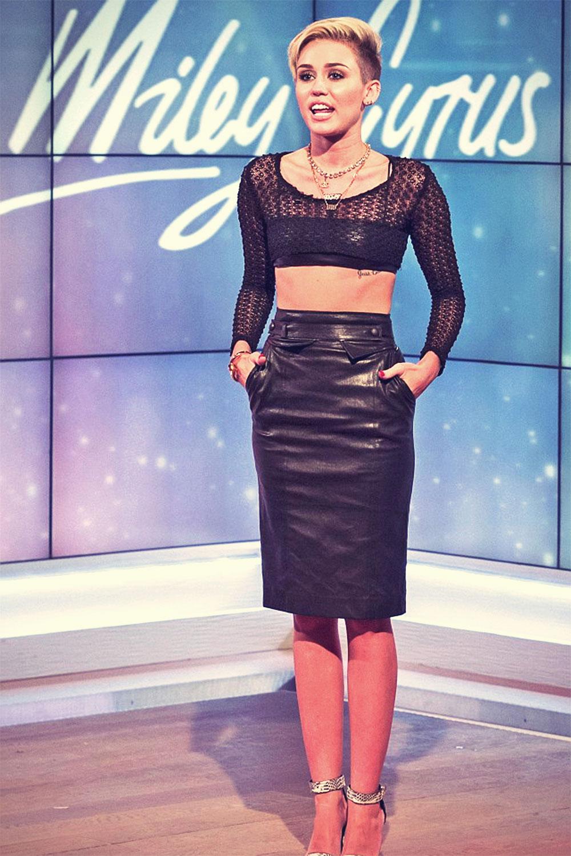 Miley Cyrus Daybreak appearance in London