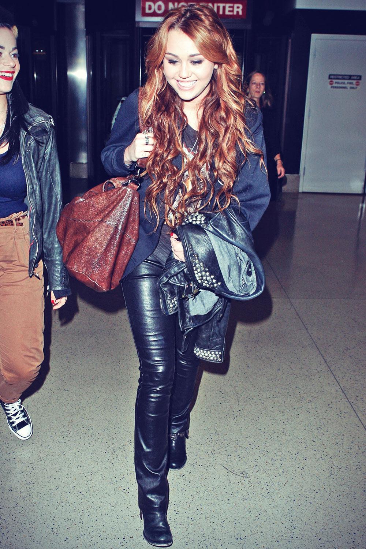 Miley Cyrus at LAX