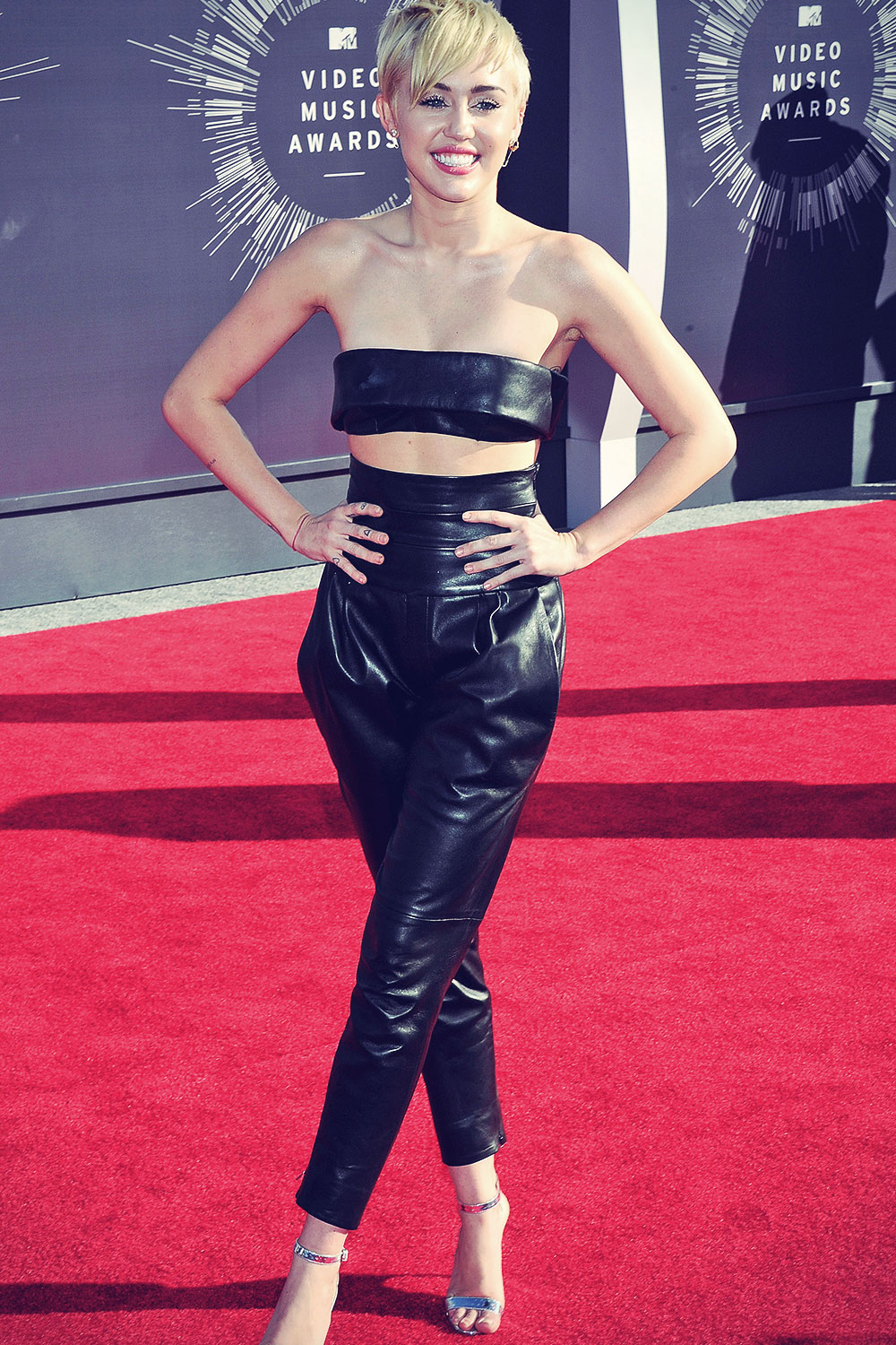 Miley Cyrus attends 2014 MTV Video Music Awards