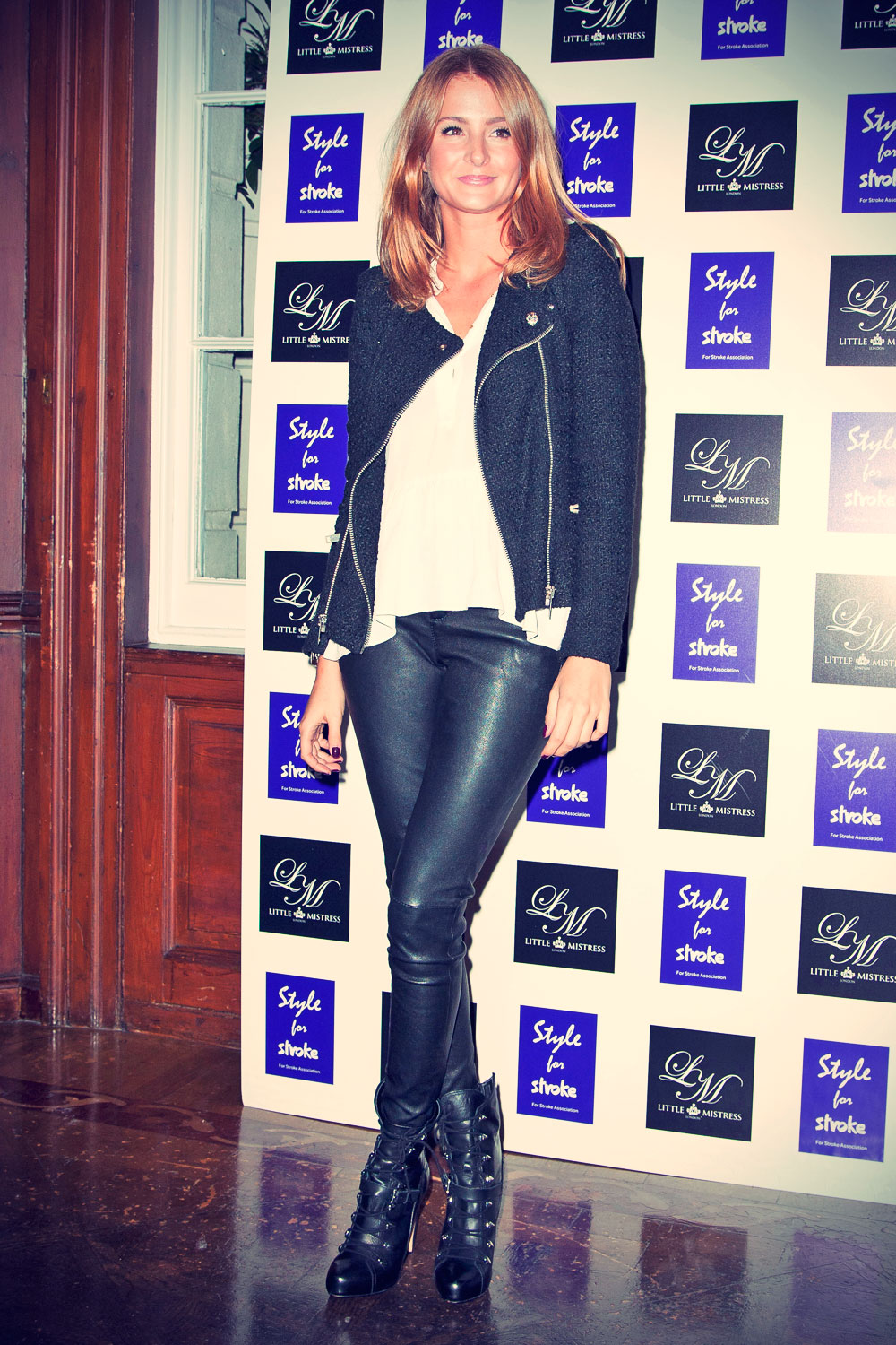 Millie Mackintosh The Style For Stroke launch party