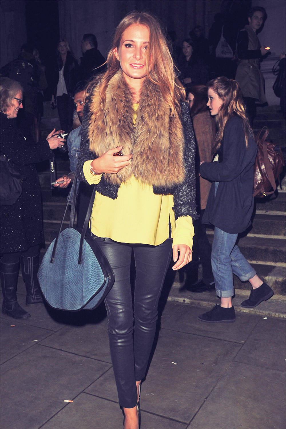 Millie Mackintosh attends London Fashion Week