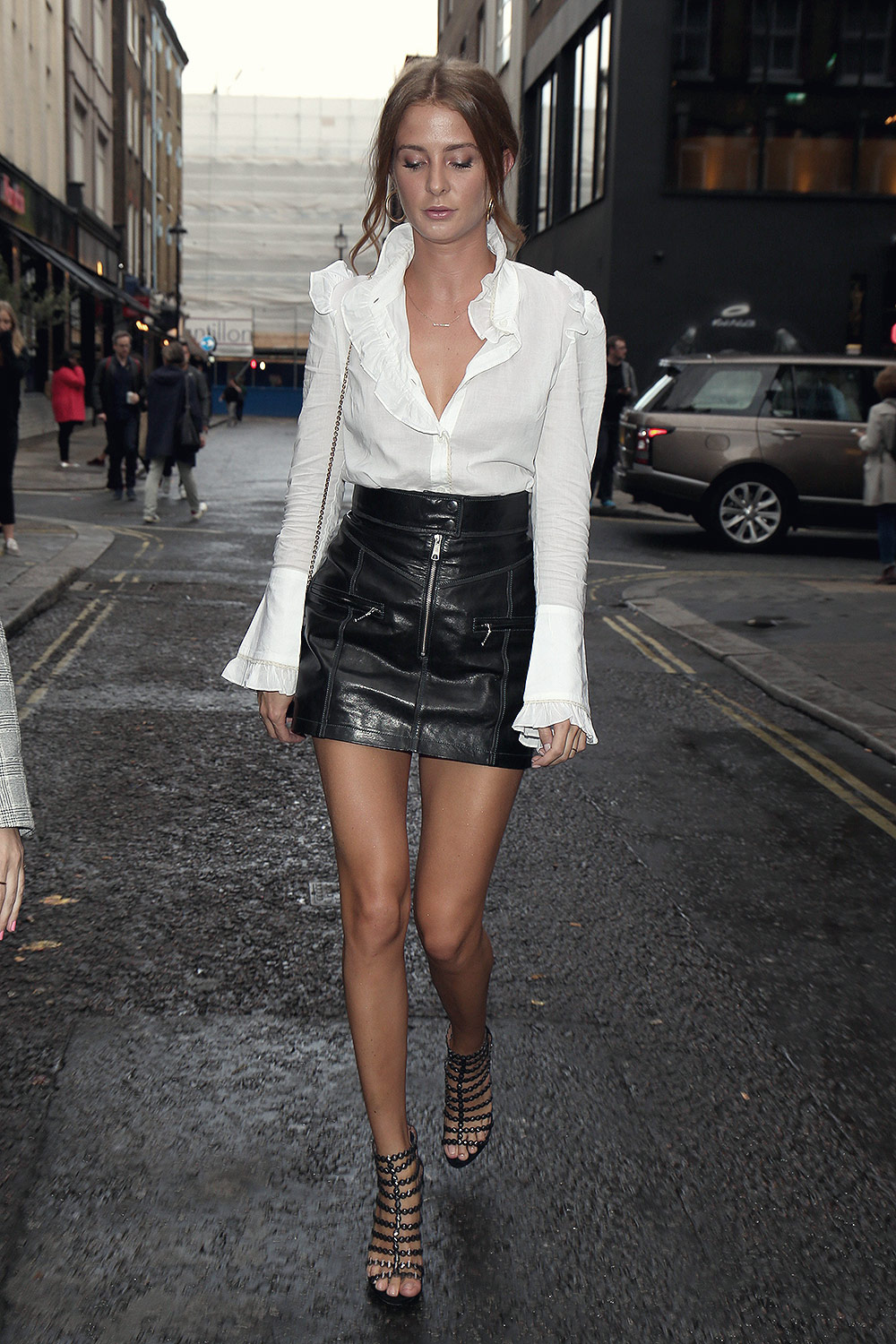 Millie Mackintosh attends Sure 'Black and White' event