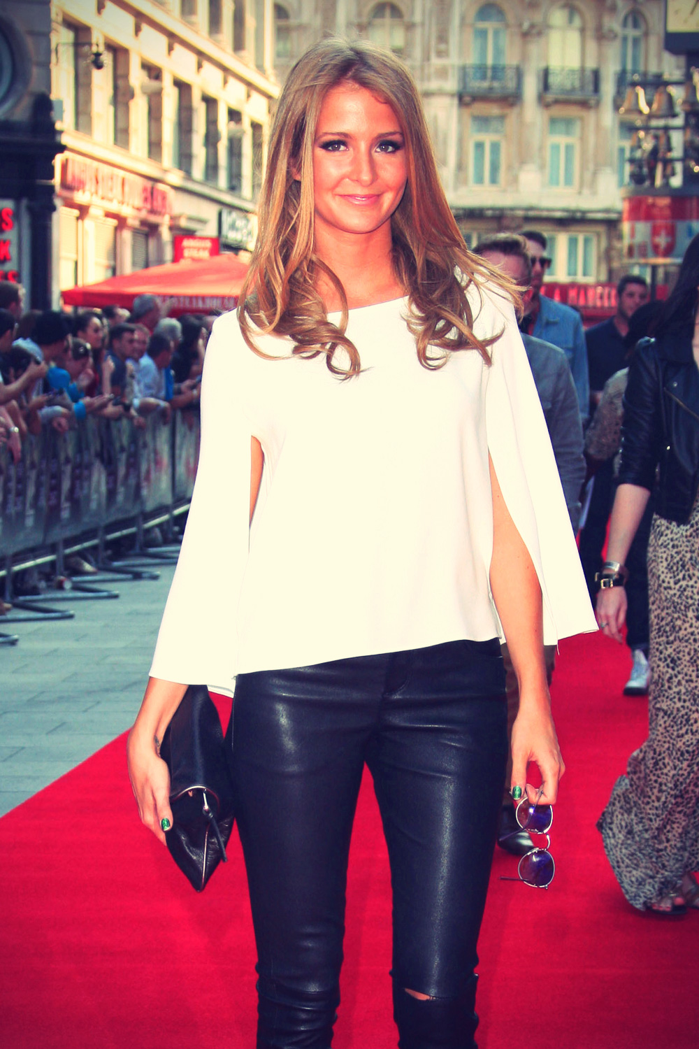 Millie Mackintosh at iLL Manors world premiere