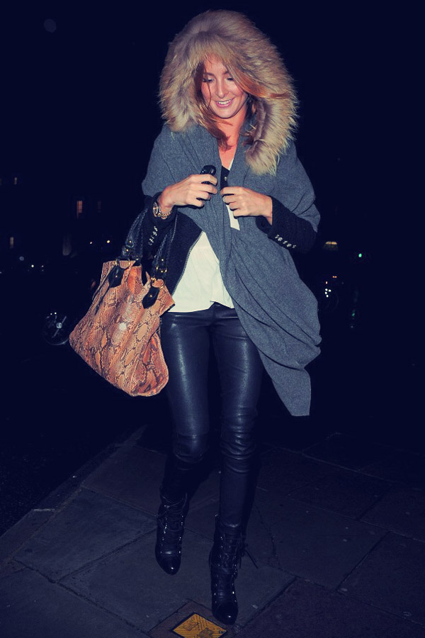 Millie Mackintosh leather mix