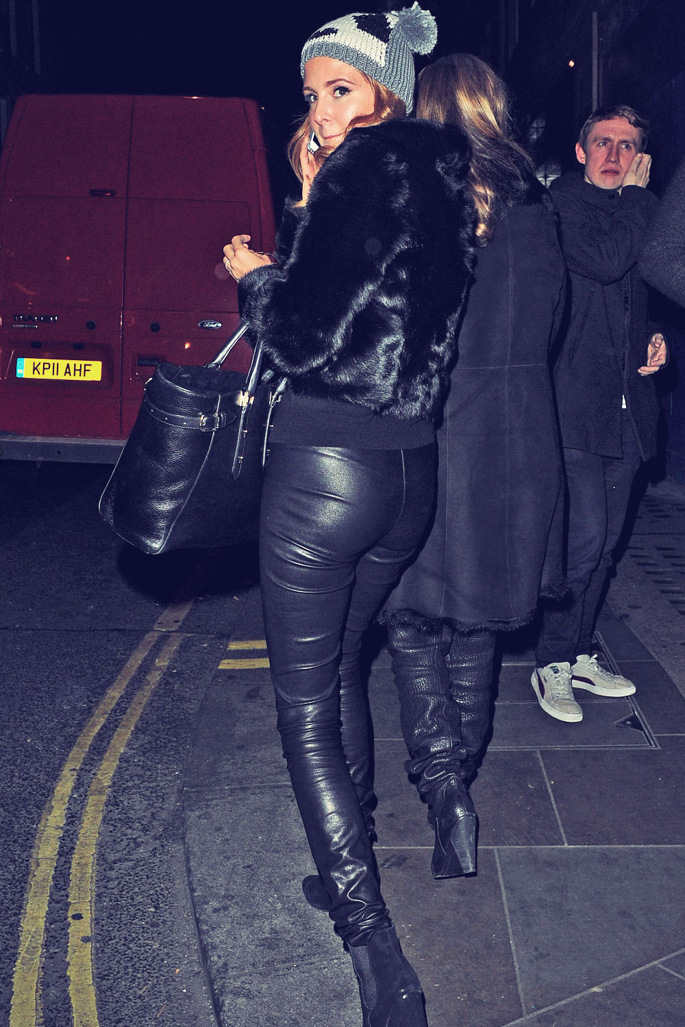 Millie Mackintosh out & about in London