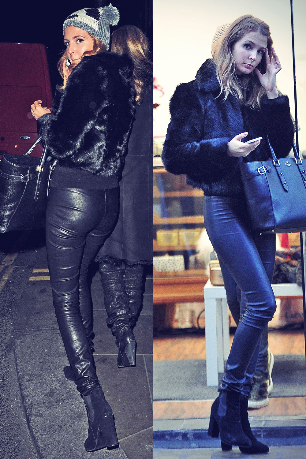 Millie Mackintosh out and about candids