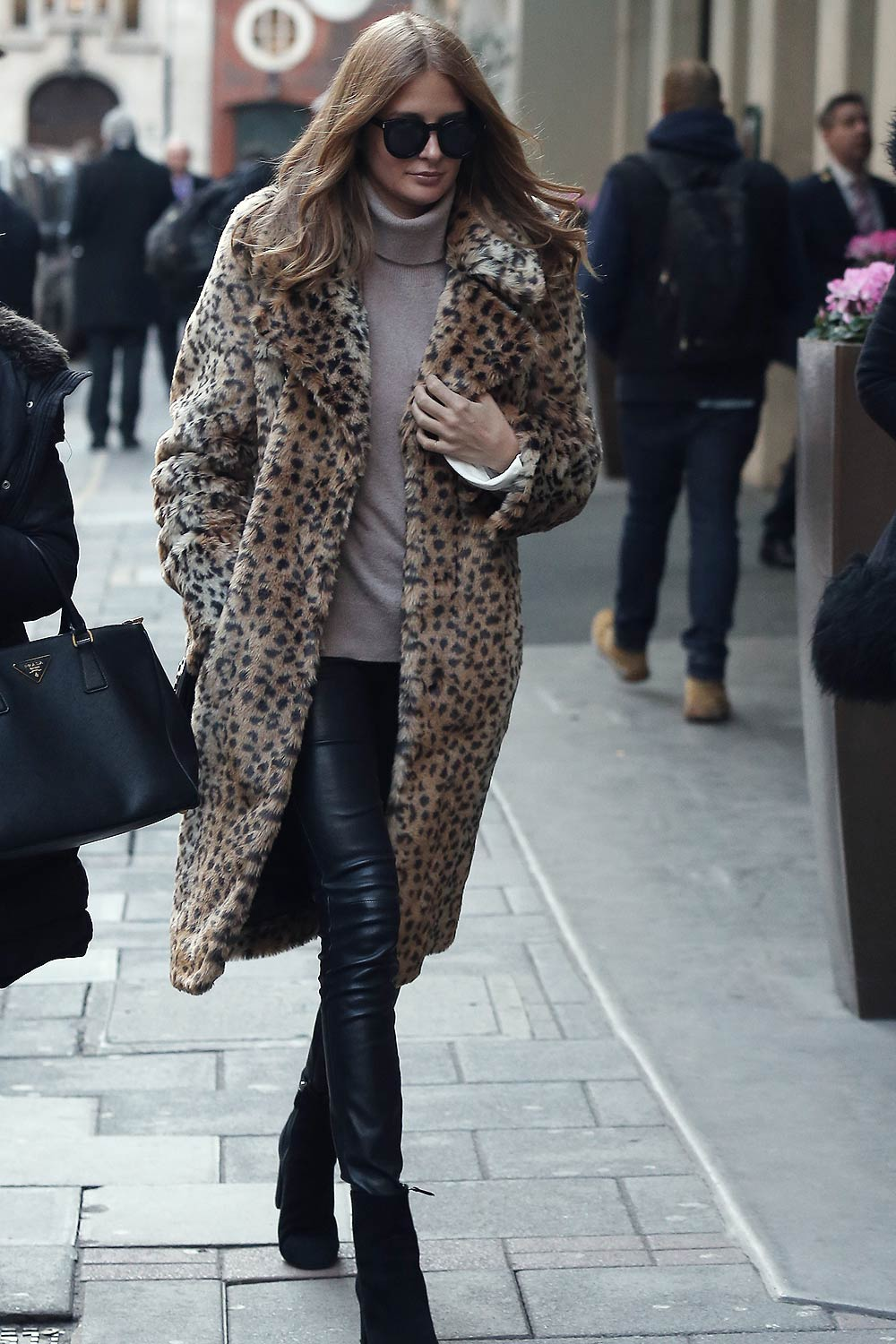Millie Mackintosh seen leaving the May Fair Hotel