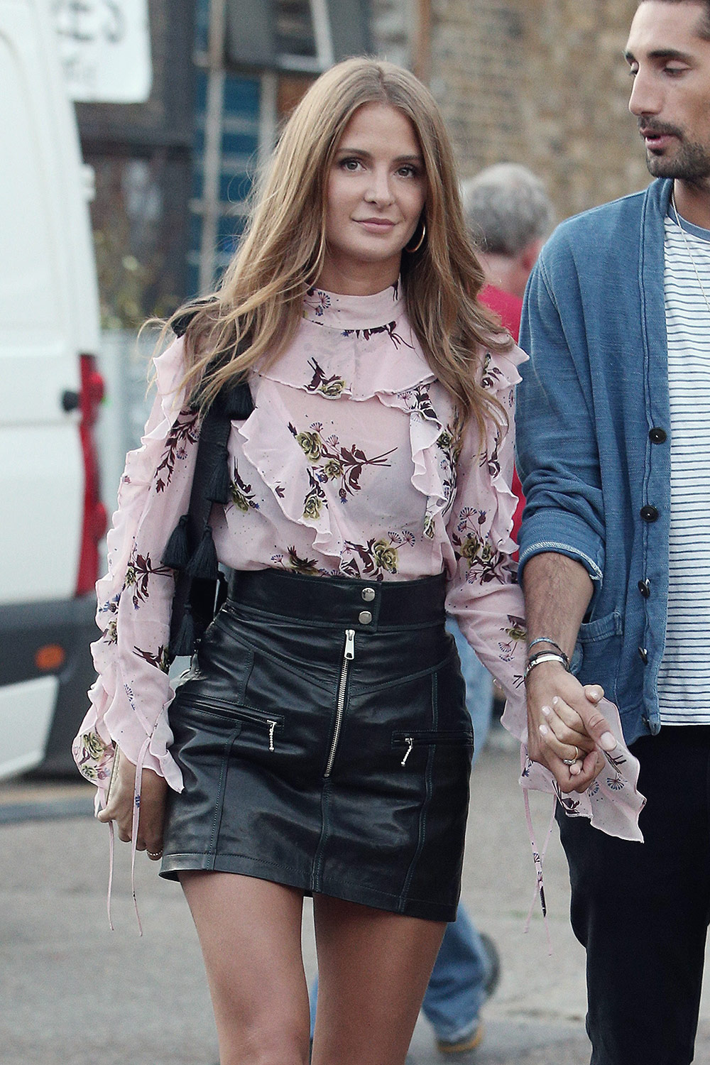 Millie Mackintosh seen out and about in London
