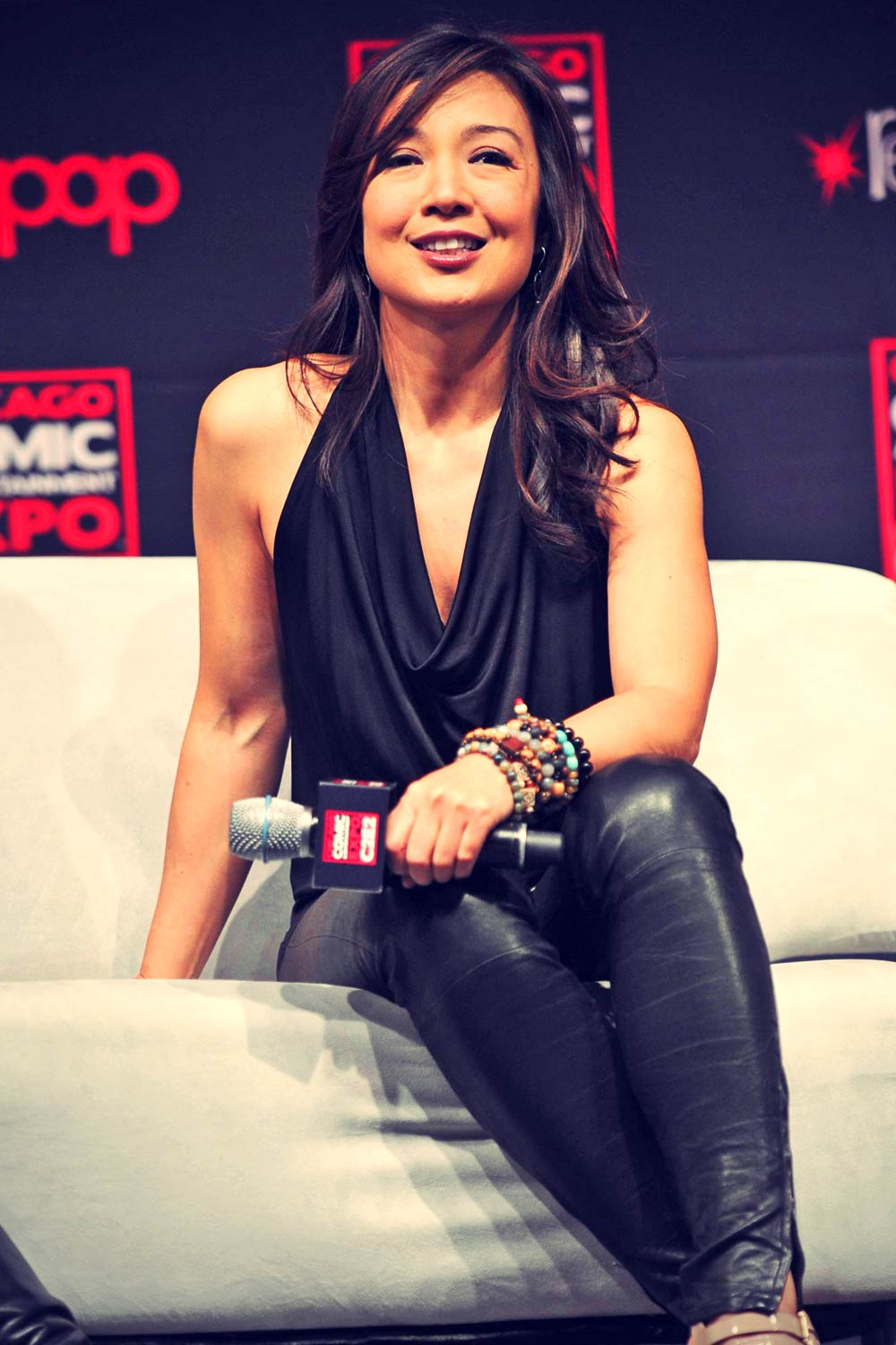 Ming-Na Wen attends Chicago Comic & Entertainment Expo