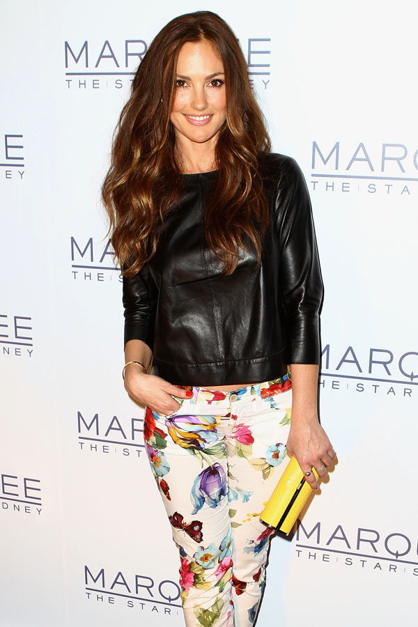 Minka Kelly at marquee at the Star Opens In Sydney