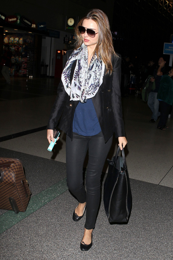 Miranda Kerr at LAX Airport