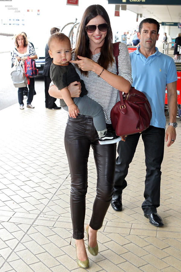 Miranda Kerr at Sydney Airport