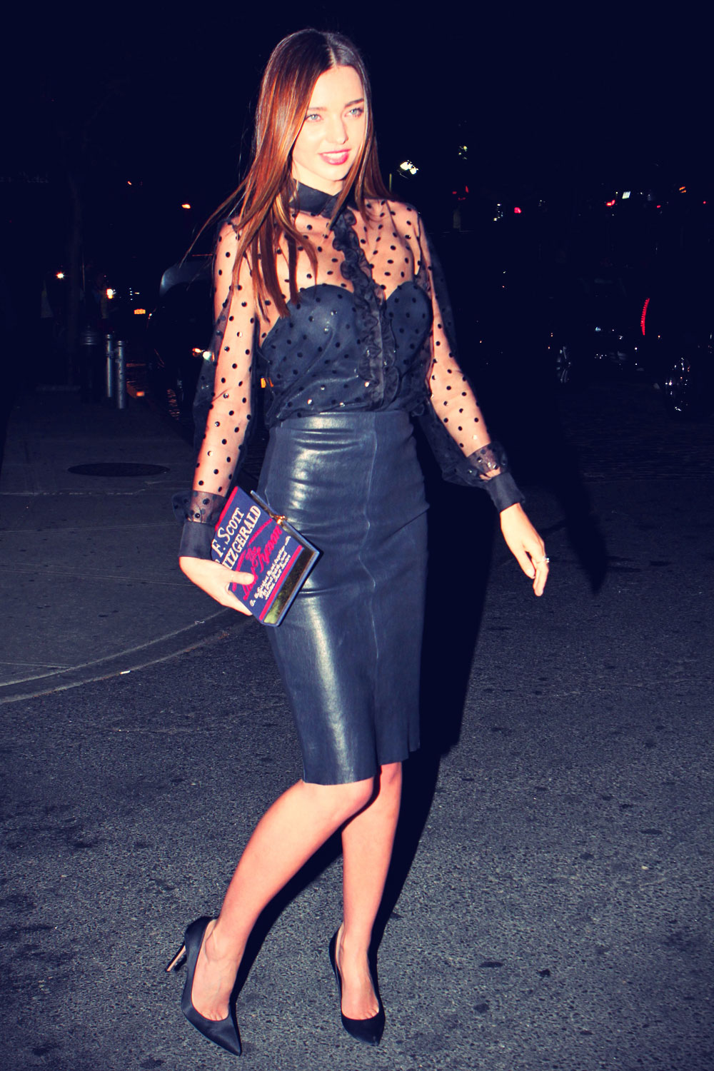 Miranda Kerr goes for an evening out in New York