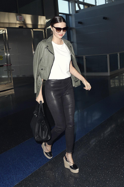 Miranda Kerr at JFK Airport