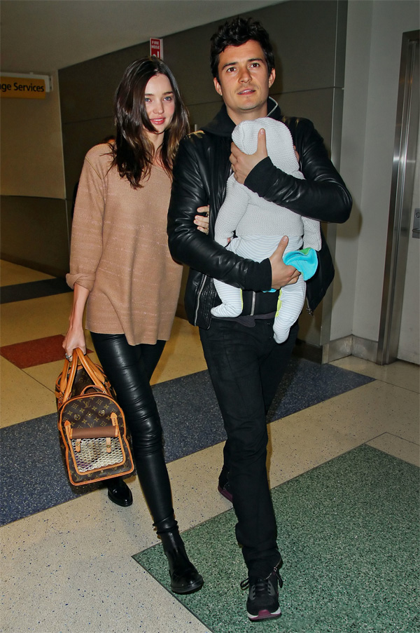 Miranda Kerr arrive to JFK Airport
