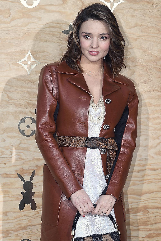 Miranda Kerr attends Louis Vuitton Dinner Party