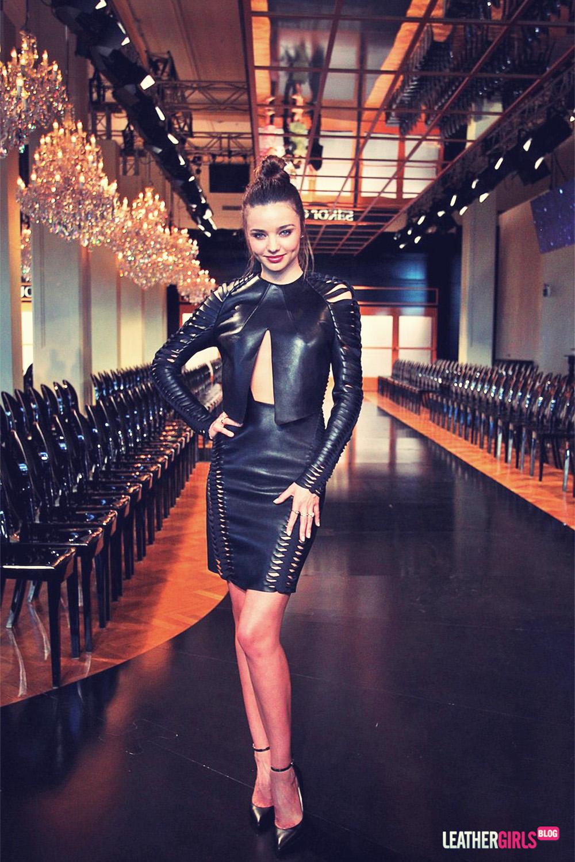 Miranda Kerr attends the David Jones AW 2013 Season Launch Fashion Show