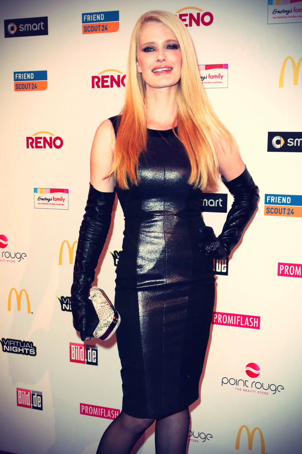 Mirja Du Mont at German Soap Award 2012