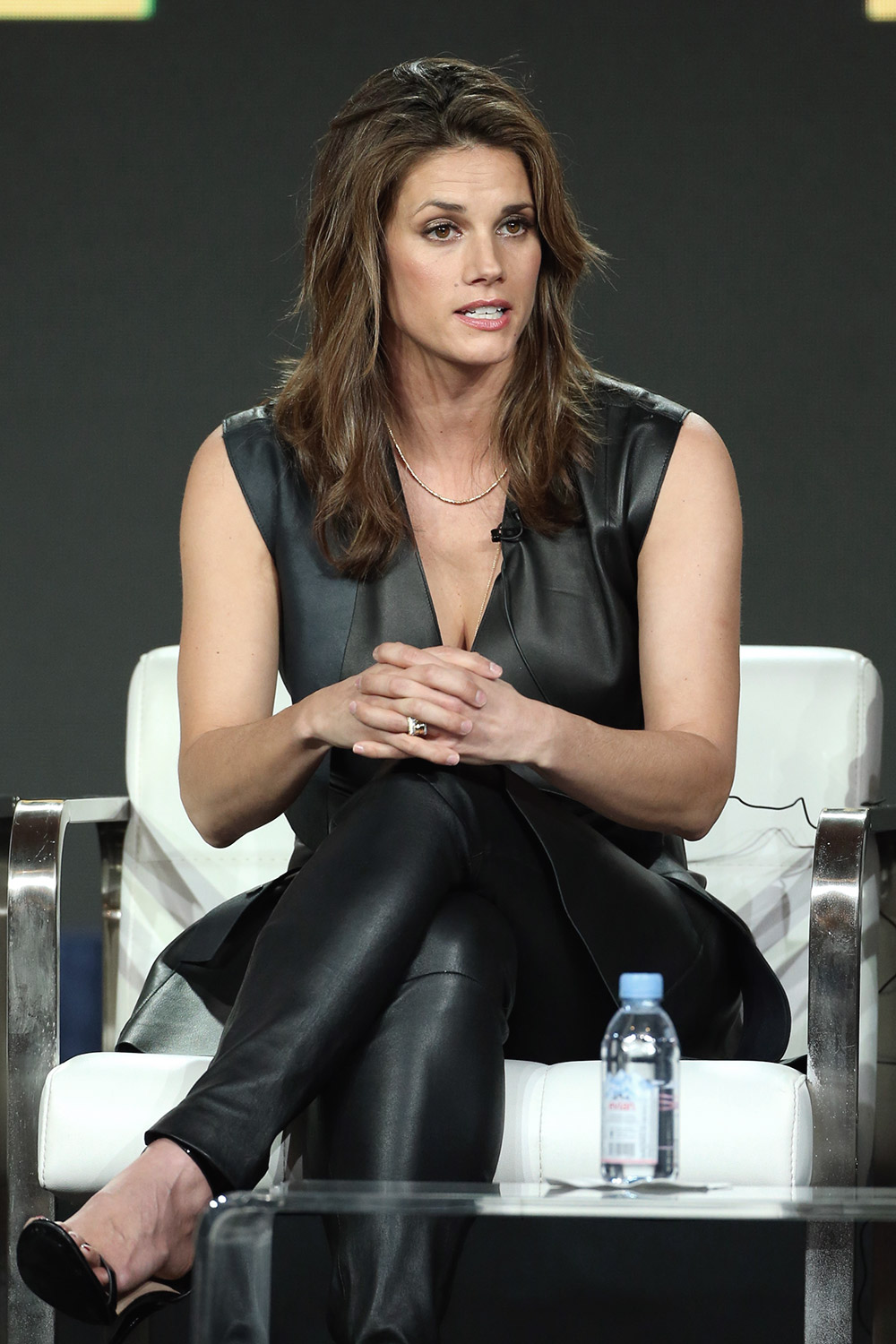 Missy Peregrym attends CBS FBI TV show panel