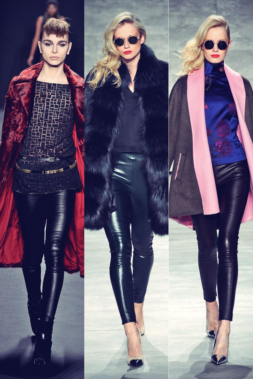 Models at Mercedes-Benz Fashion Week
