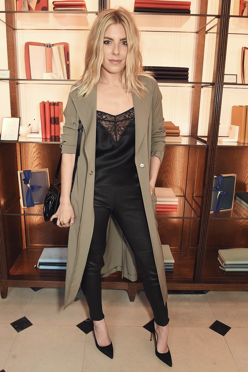 Mollie King Attends The Launch Of Wendy Rowe S New Book