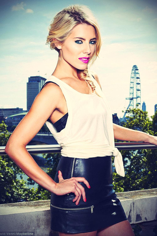 Mollie King at Vodafone London Fashion Weekend