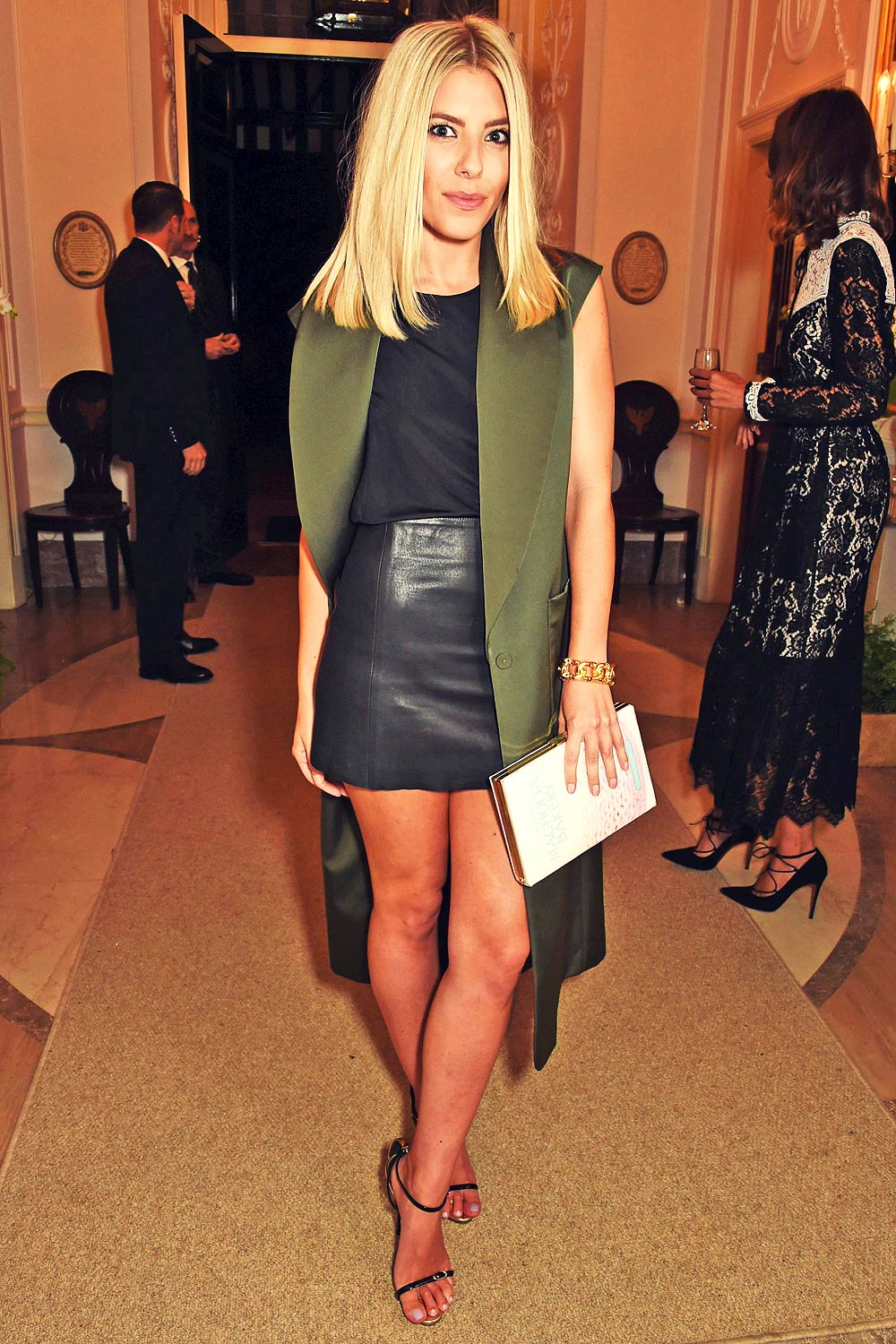 Mollie King attends Vogue Party for London Fashion Week