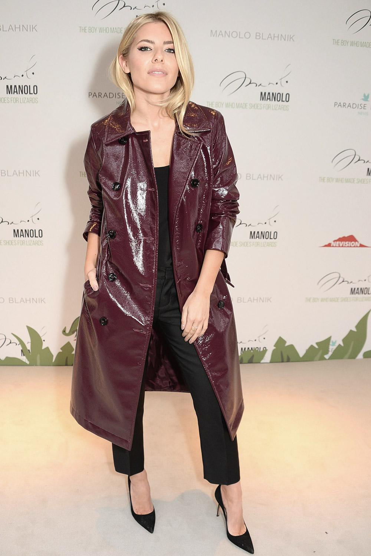 Mollie King attends Manolo VIP Screening London Fashion Week
