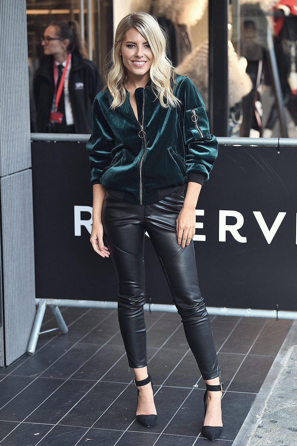 Mollie King attends Reserved Store Opening