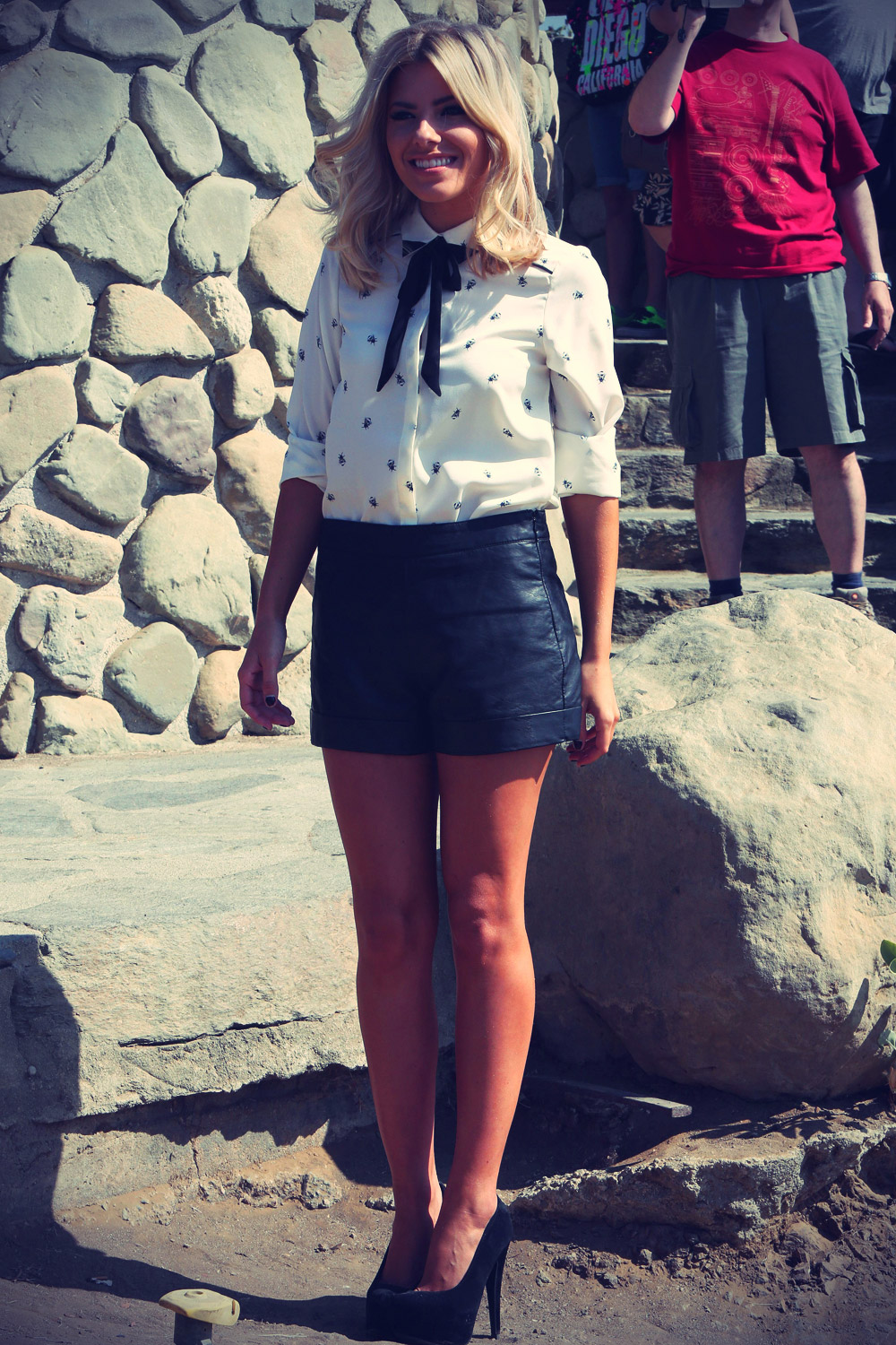 Mollie King photoshoot in the Hollywood Hills