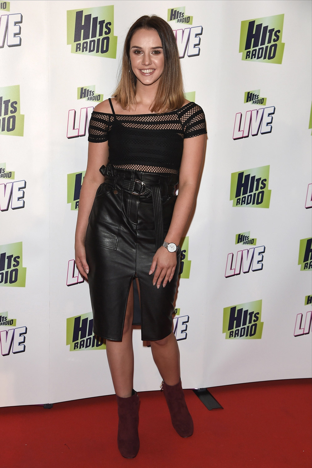 Mollie Winnard attends Hits Radio Live