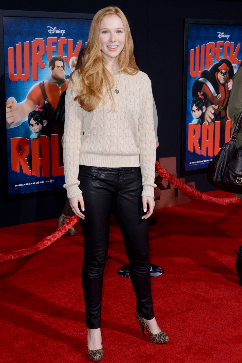 Molly Quinn at the Los Angeles premiere of Wreck-It Ralph