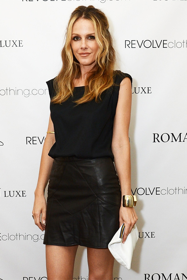 Monet Mazur at the Launch Of Roman Luxe