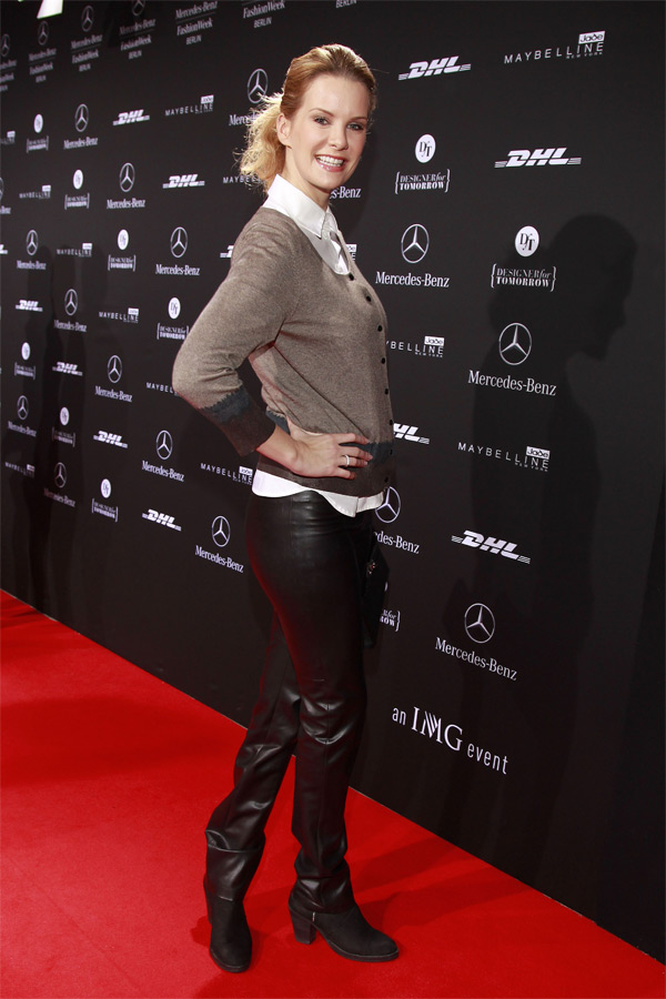Monica Ivancan  at Fashion Week Berlin